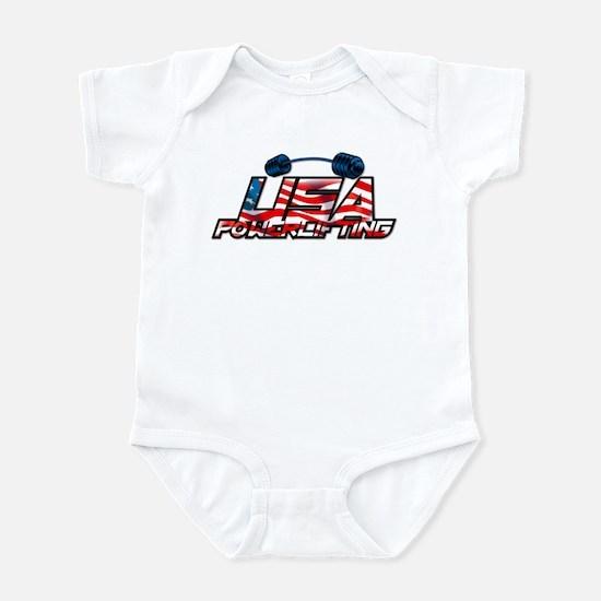 U.S. Powerlifting Infant Creeper