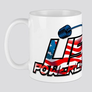 U.S. Powerlifting Mug