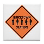bricktown station Tile Coaster