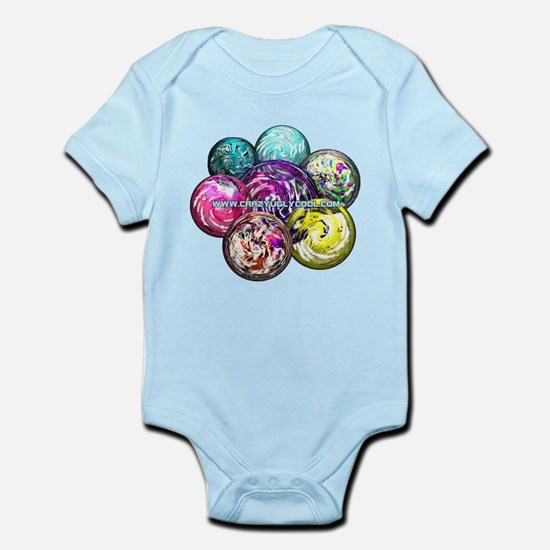 CrazyUglyCool Marbles Infant Creeper