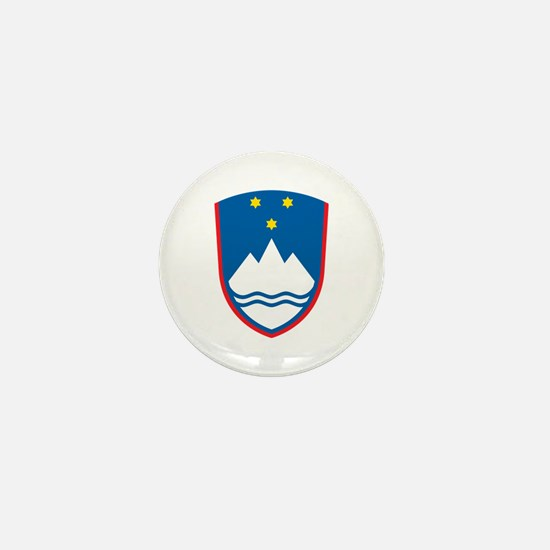 Slovenia Coat of Arms Mini Button