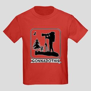 GONNADOTHIS.COM-Nature Photog Kids Dark T-Shirt