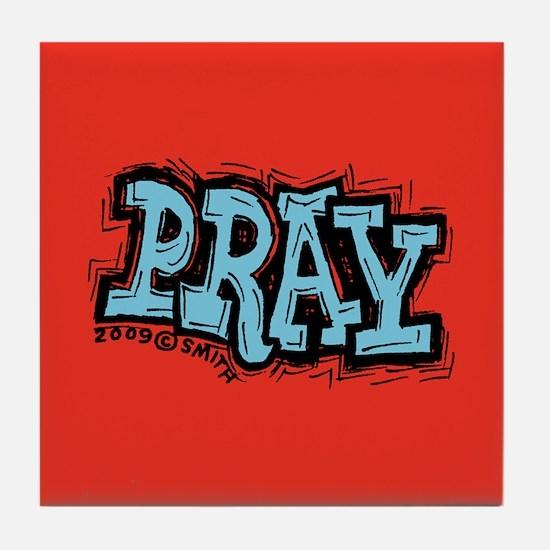 Pray Tile Coaster