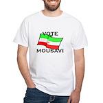 Vote Mousavi White T-Shirt