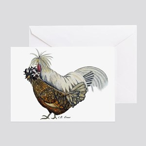 Chickens Blank Greeting Card