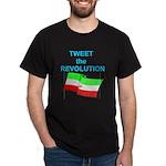Tweet the Revolution Dark T-Shirt