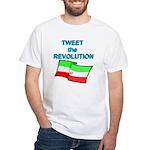Tweet the Revolution White T-Shirt