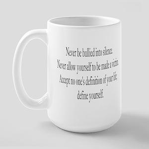 Define Yourself Large Mug