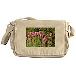 Pink Tulips Messenger Bag