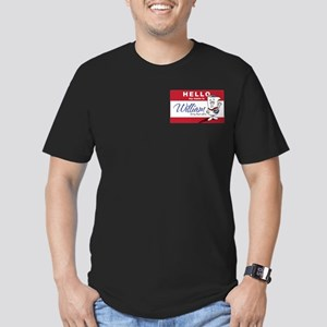 School HOuse Rocks! Hello my Men's Fitted T-Shirt
