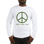 Peace Love Luck Long Sleeve T-Shirt