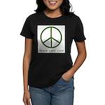 Peace Love Luck Women's Dark T-Shirt