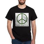 Peace Love Luck Dark T-Shirt