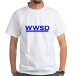 What Would Sully Do? White T-Shirt
