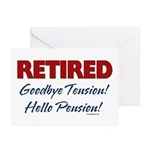 Retired: Goodbye Tension Hell Greeting Cards (Pk o