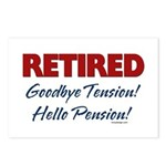 Retired: Goodbye Tension Hell Postcards (Package o