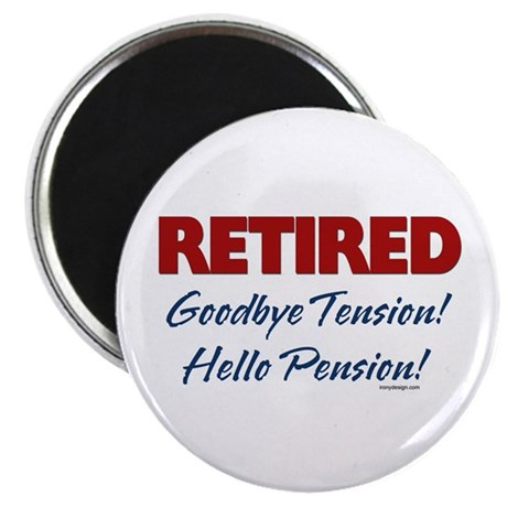 Retired: Goodbye Tension Hell Magnet