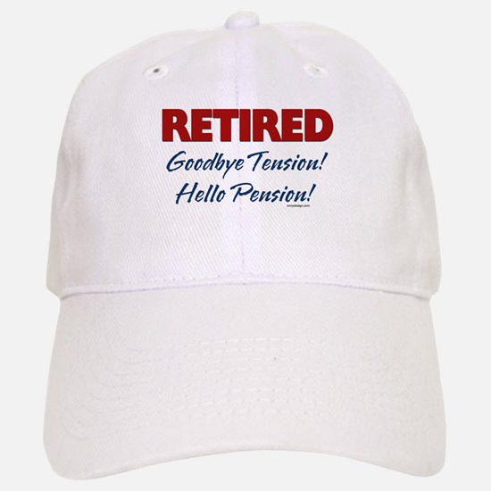 Retired: Goodbye Tension Hell Baseball Baseball Cap