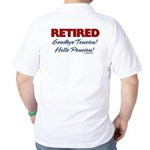 Retired: Goodbye Tension Hell Golf Shirt