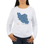 Iran's True Colors Women's Long Sleeve T-Shirt
