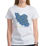 Iran's True Colors Women's T-Shirt