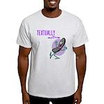 Textually Active Light T-Shirt