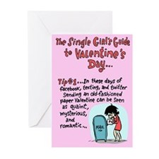 Single Girl's Guide Greeting Cards (Pk of 20)