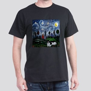 Thinking of Stars Dark T-Shirt