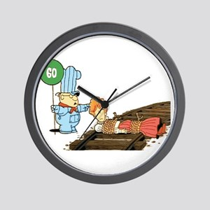 School House Rock! Go? Wall Clock