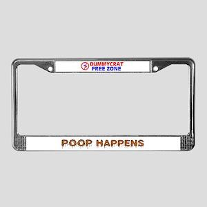 IT HAPPENS ! - License Plate Frame