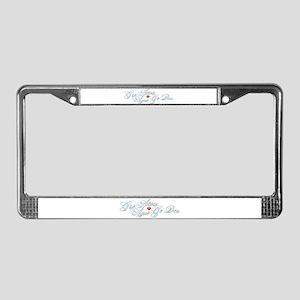Gaelic Love License Plate Frame