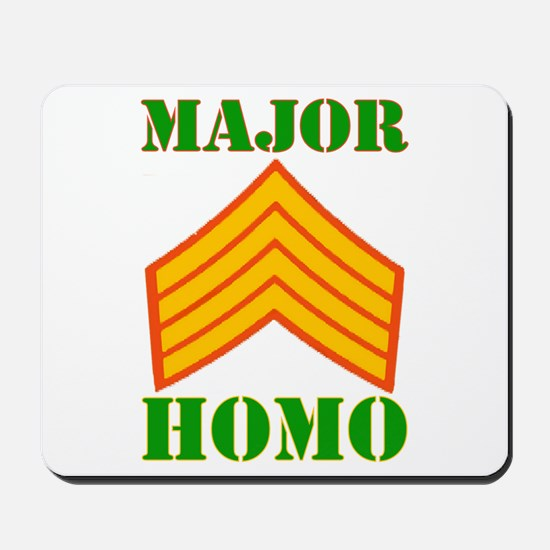 Major Homo Mousepad