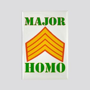 Major Homo Rectangle Magnet