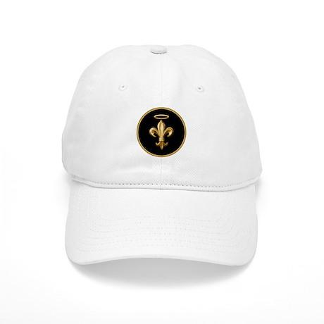 Gold Fleur de lis Talisman Cap