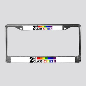 2nd Class Citizen License Plate Frame