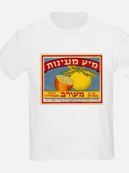 Ma'ayanot Juice Kids T-Shirt