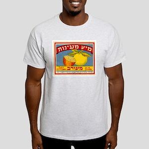 Ma'ayanot Juice Ash Grey T-Shirt
