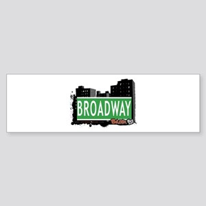 Broadway, Bronx, NYC Bumper Sticker