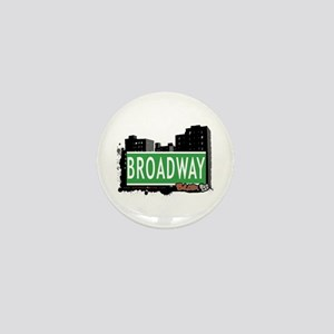 Broadway, Bronx, NYC Mini Button