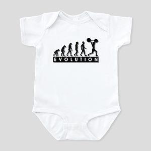 Evolution of Body Building Infant Bodysuit