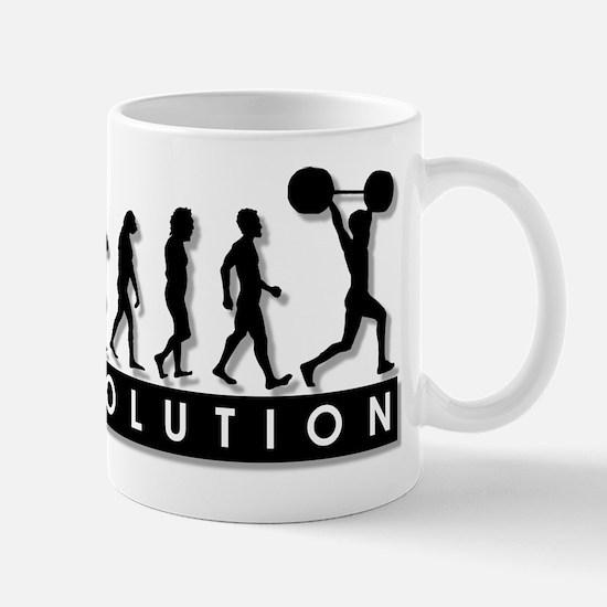 Evolution of Body Building Mug