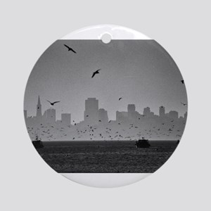 San Francisco Bay Ornament (Round)