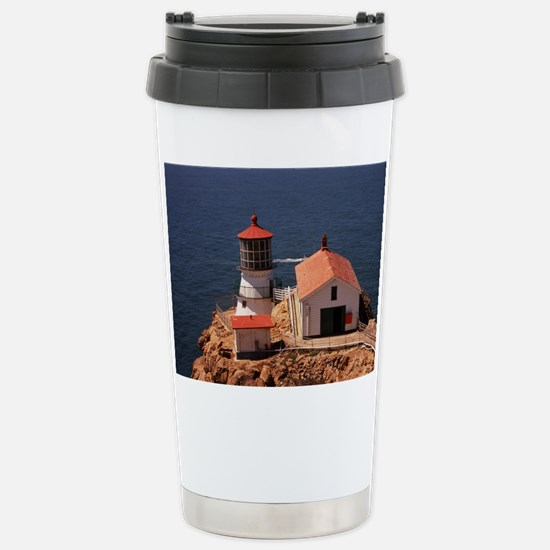 Point Reyes Lighthouse Stainless Steel Travel Mug