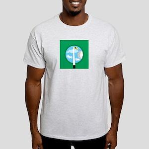 Golf Hole  Ash Grey T-Shirt