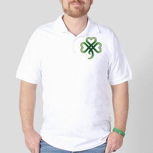 Celtic Clover Golf Shirt