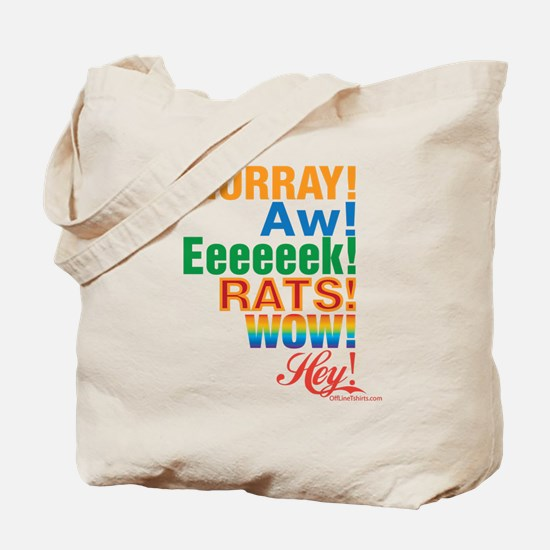 Interjections! Tote Bag