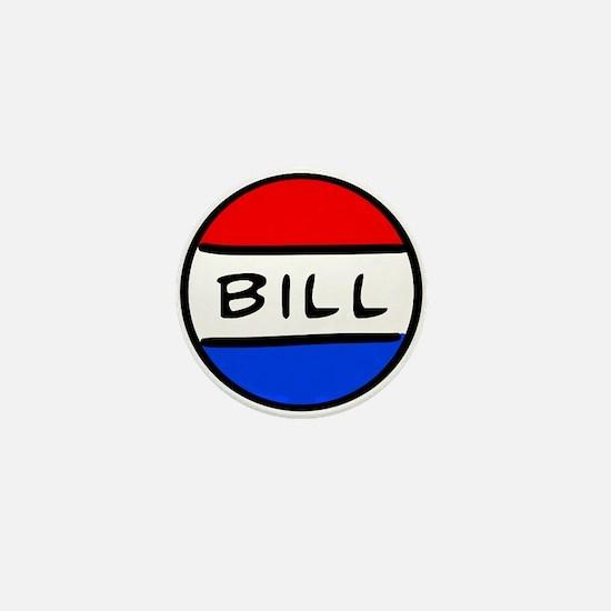 Bill Button Mini Button