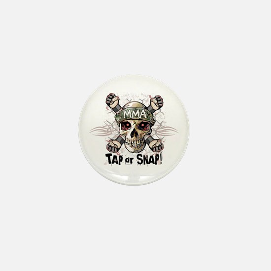 Tap or Snap Tattoo Mini Button