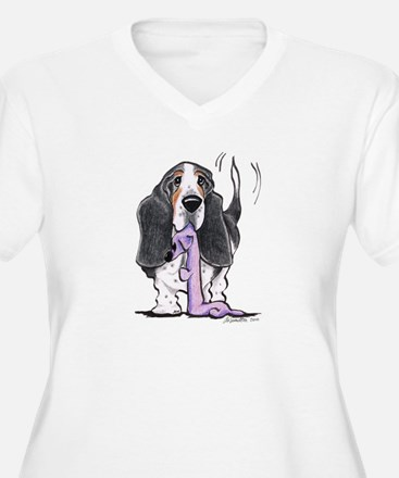 Tricolor Basset Playtime T-Shirt