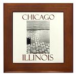 Old Chicago Framed Tile